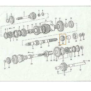 Engrenagem-Da-5ª-Marcha---Patral-Toyota-Bandeirante